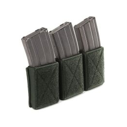 Warrior Assault Systems Triple Velcro Mag Pouch