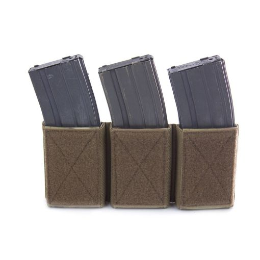 TRIPLE VELCRO MAG POUCH Coyote
