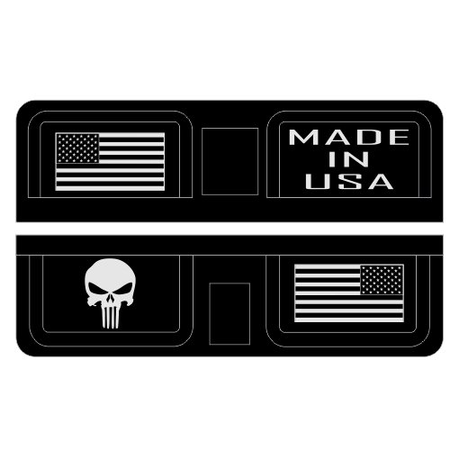 Punisher and Flag Ejection Port Cover