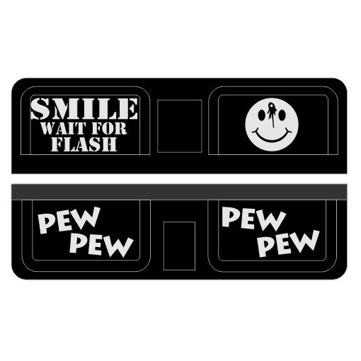 SMile for the Flash Laser Ejection port Cover