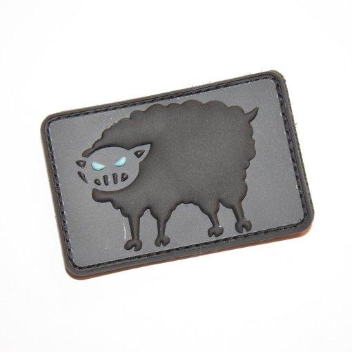 Black Sheep Warrior 3x2 Logo Patch