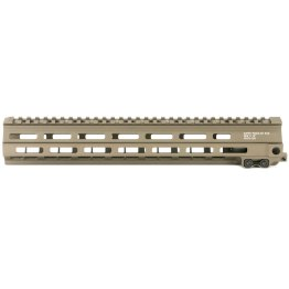 Geissele 13″ Super Modular Rail MK4 M-LOK Desert Dirt Color