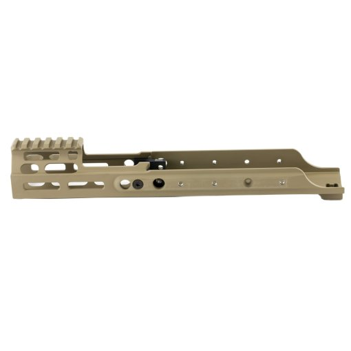 Kinetic Development Group SCAR MREX - M-LOK 4.9″ Receiver Extension FDE