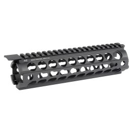 Midwest Industries AR-15:M16 K-Series KeyMod Two Piece Drop-In Mid-Length Handguard