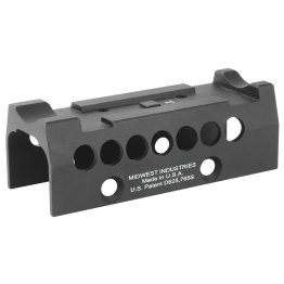 Midwest Industries Optic Specific Topcover, fits only MI Universal Handguards