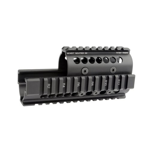 Midwest Industries Universal AK47:74 Handguard - Standard Topcover Black