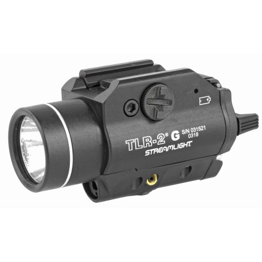 Streamlight TLR-2 G LED Rail-Mounted Weapon Light with Green Laser