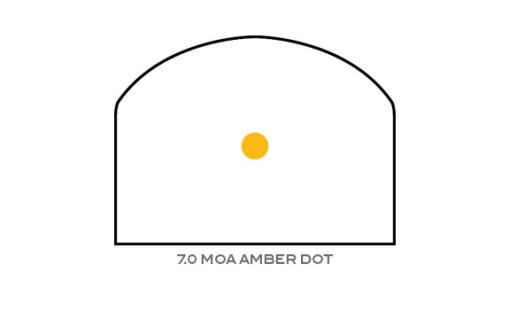 Trijicon 7 MOA Red Amber Dot Reticle