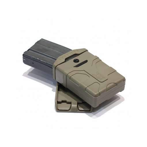 Warrior Polymer 5.56 Mag Pouch Coyote