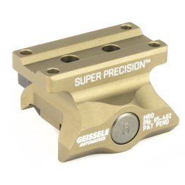 Geissele Super Precision MRO Series Optic Mount Desert Dirt