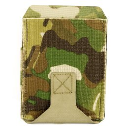 Blue Force Belt Mount M4 Mag Pouch High multicam
