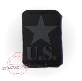 US Star Patch Subdued