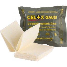 Celox Z-Fold Hemostatic Gauze