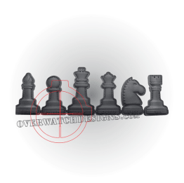Chess Set PVC Patches