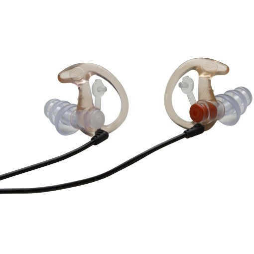 Surefire EP4 Sonic Defenders Plus Earplugs Clear