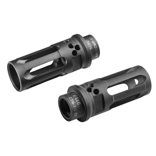 Surefire Warcomp 5.56MM 1/2-28 Flash Hider/Suppressor Adapter,