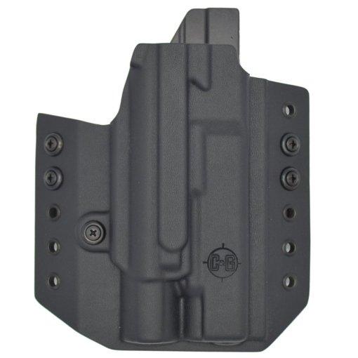 C&G Glock 34-17-19 X200-X300-XH35 OWB Tactical Kydex Holster - Quickship 1