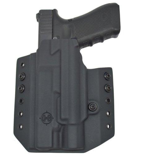 C&G Glock 34-17-19 X200-X300-XH35 OWB Tactical Kydex Holster - Quickship 5