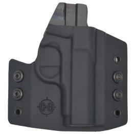 C&G Kimber Micro 9 OWB Covert Kydex Holster - Quickship 1