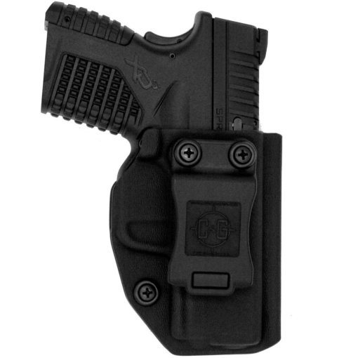 C&G Springfield Armory XDs 3.3 IWB Covert Kydex Holster - Quickship 2