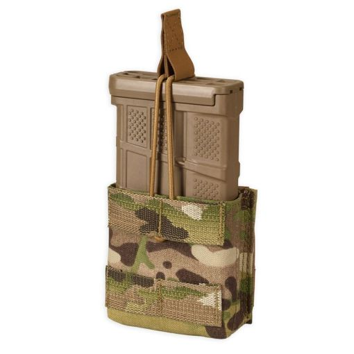 Chase Tactical Single 7.62 Cal Mag Pouch - Multicam