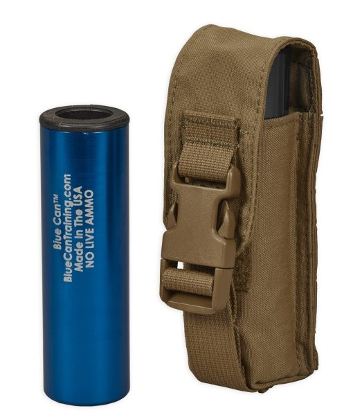 Chase Tactical Small Flashlight/Suppressor Pouch - Coyote 2