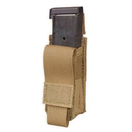 Chase Tactical Single Pistol Mag Pouch - Coyote