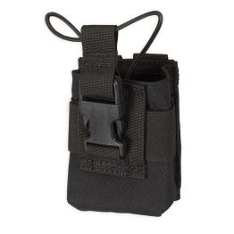 Chase Tactical Radio Pouch - Black