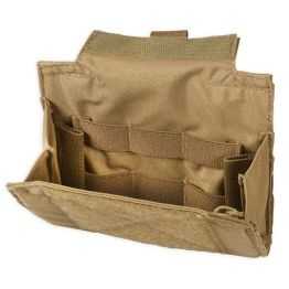 Chase Tactical Folding Admin Pouch - Coyote
