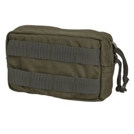 Chase Tactical Small Horizontal General Purpose Utility Pouch - Ranger Green