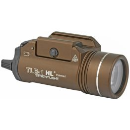 Streamlight TLR-1-HL FDE 1000 Lumen Weapon Light Review