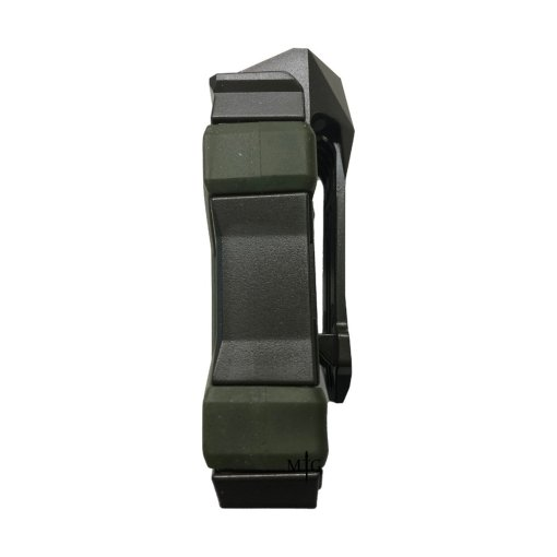 OD Green PITBUL Single Pistol Mag Pouch Side Profile
