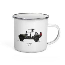 MTG DTR Jeep tin Mug Front