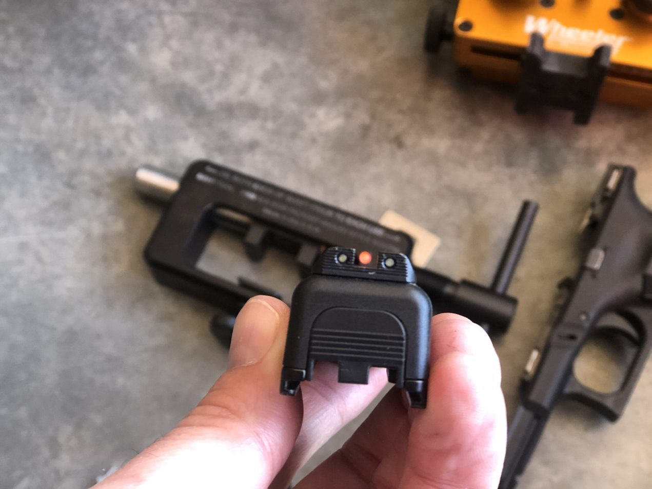 Glock OEM Bold Night Sights by Ameriglo