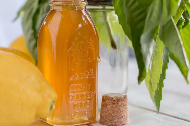 Farmers Market Honey and Basil