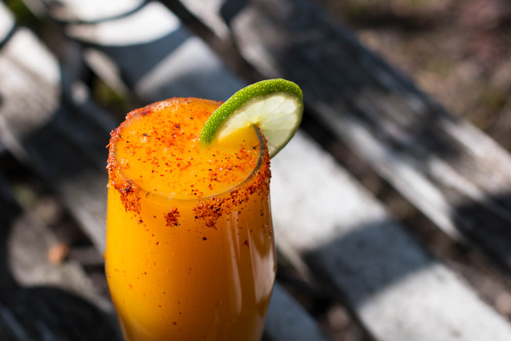 This Mango Aguas Frescas is a wonderful thirst quenching drink with an earthy sweet turmeric addition.