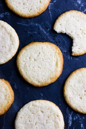Is it a sugar cookie? Is it a butter cookie? Who cares! These Weird Cheesecake Cookies may confuse, but they taste amazing and are very simple to make. And they actually taste like cheesecake!   www.megiswell.com