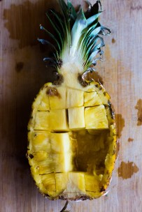 This easy No-Fry Pineapple Rice Salad is a simple side perfect for summer parties. Vegan   Vegetarian   www.megiswell.com