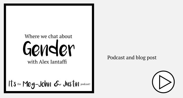 gender chat with Alex Iantaffi