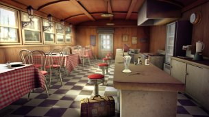 The Diner by Venatra