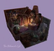 The Alchemist's Lab by Cathleen McCallister