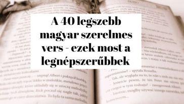 A 40 legszebb magyar szerelmes vers - ezek most a legnépszerűbbek