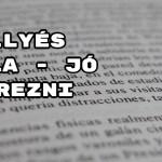 Jöjjön Illyés Gyula - Jó érezni verse.