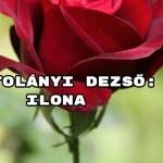 Jöjjön Kosztolányi Dezső: Ilona verse.