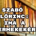 Jöjjön Szabó Lőrinc: Ima a gyermekekért verse.