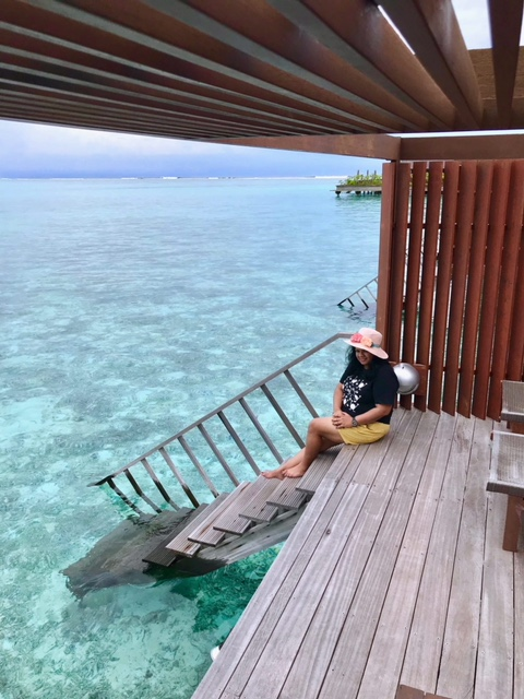 Maldives Resort Water Villa