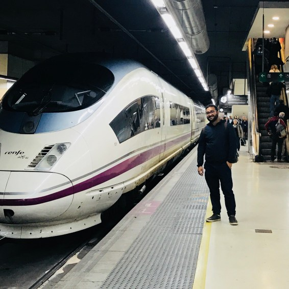 Renfe super fast train!