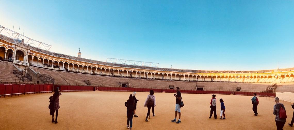 The Bullfghting arena