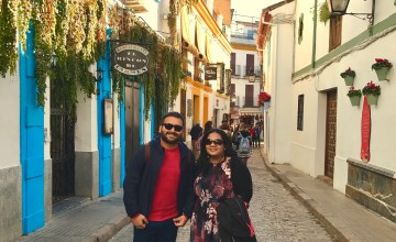 The beautiful streets of Cordoba.