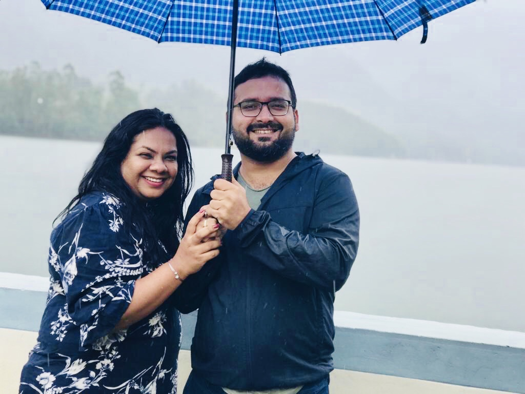Us at mathupetty Dam
